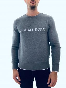 Michael Kors Logo Grey...