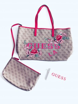 Guess Vikky Logo Floral...