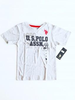 U.S. Polo Assn. Logo Grey...