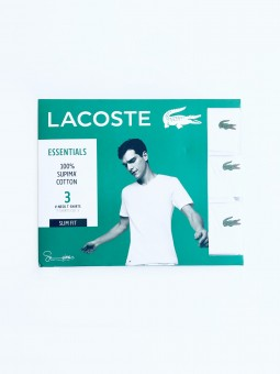 Lacoste V-Neck Supima White...