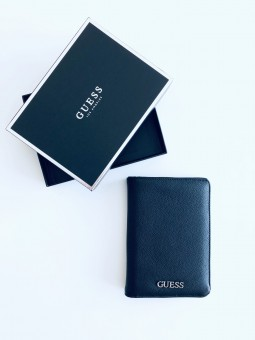 Guess Logo Black Passport...