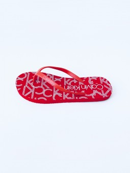 Calvin Klein Monogram Red...