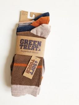 Green Treat ponožky 3 páry