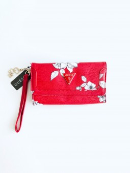 Guess Triangle Floral Red...