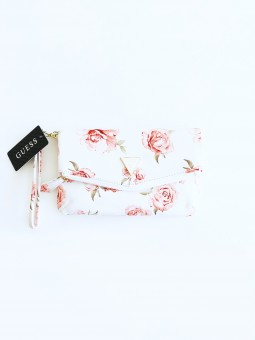 Guess Triangle Floral White...